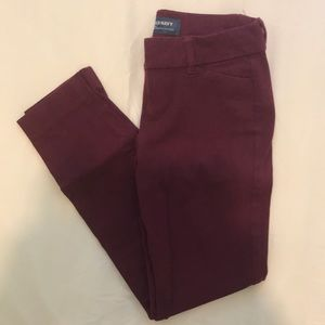 Old Navy Pixie - Cranberry